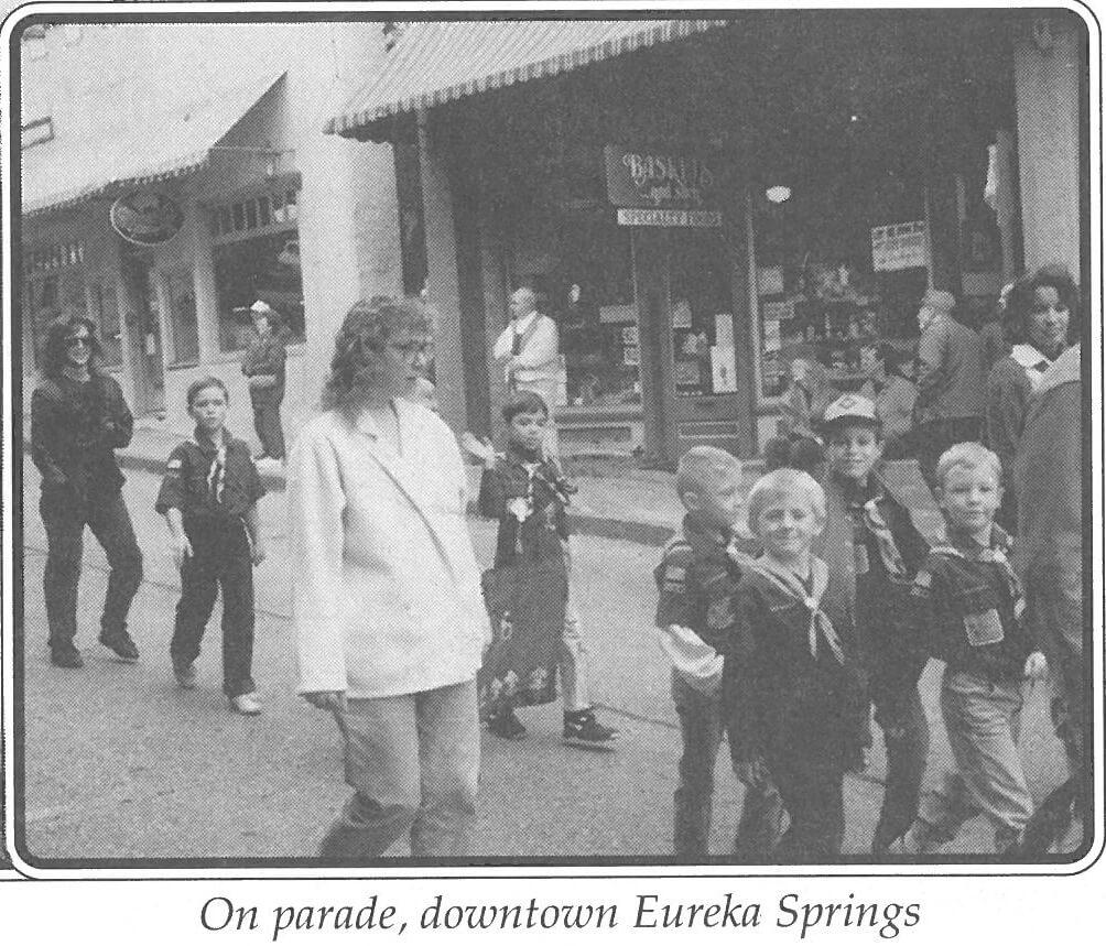 75AnnivHist_CubScouts_Parade_EurekaSprings